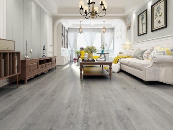 The flooring used in commercial and institutional application